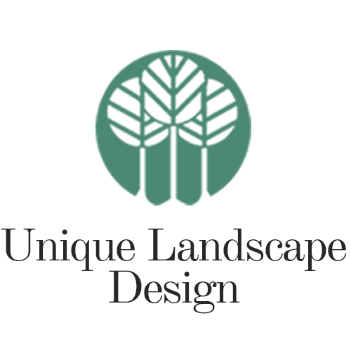 Unique Landscape Design Mobile Retina Logo